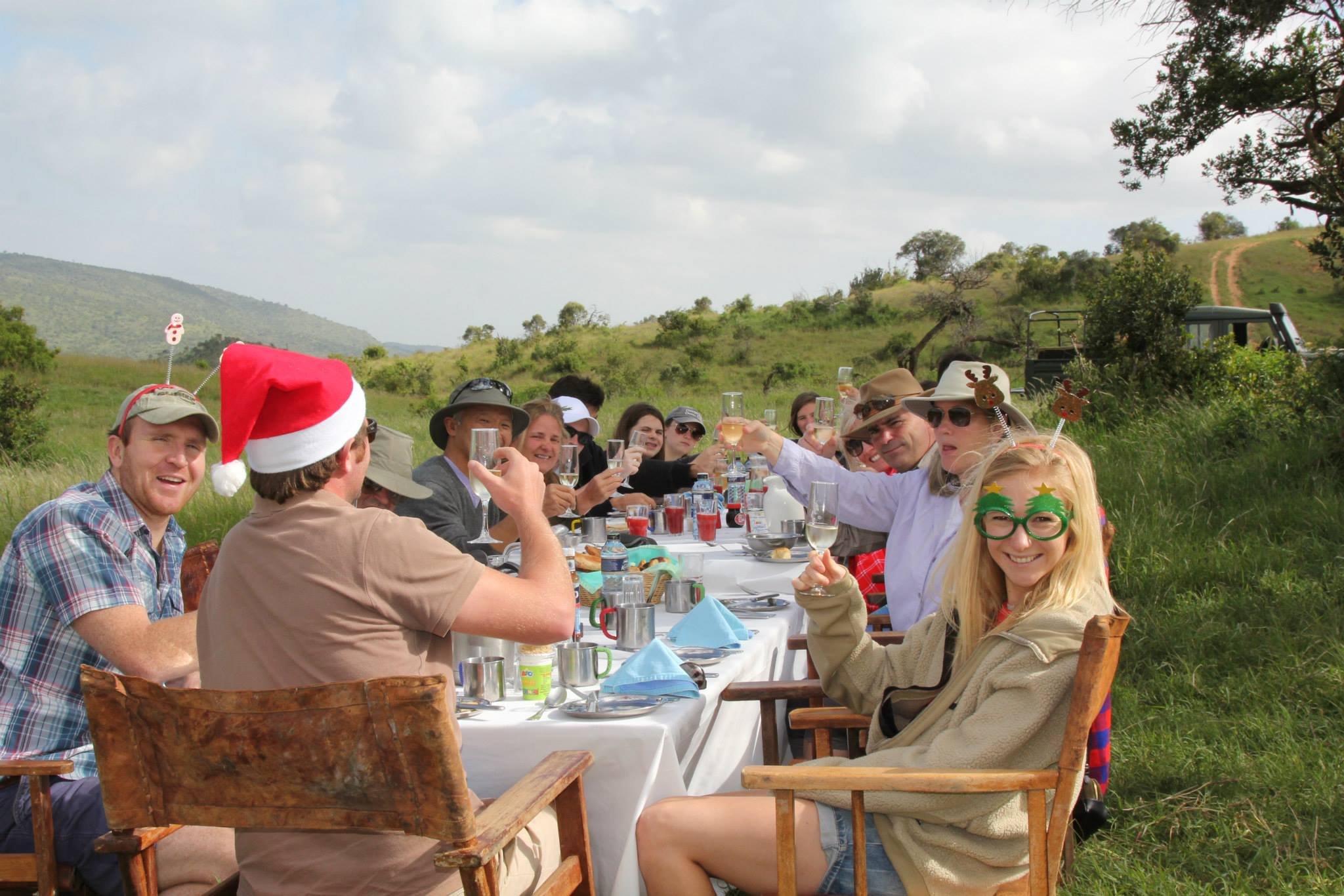 Christmas Morning at Borana Lodge