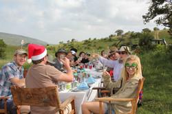 Christmas Morning at Borana Lodge