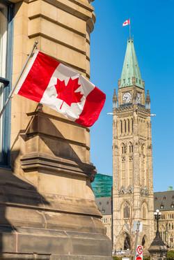 Parliament in Ottawa, Canada