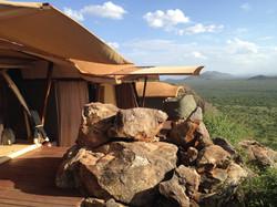 Saruni Masai Mara Lodge View