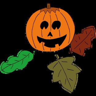 #31 Halloween pompoen