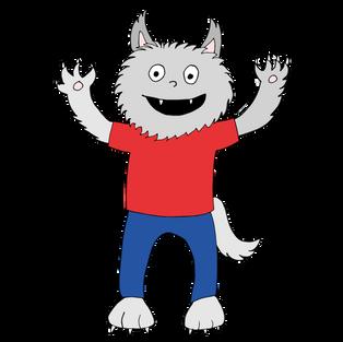 #33 Teken Dolfje Weerwolfje!