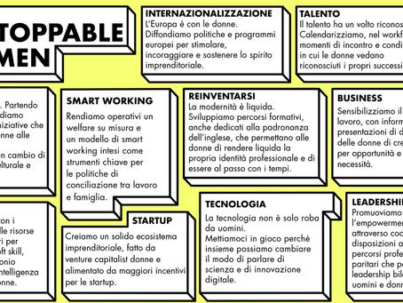Da StartupItalia! Open summit 2018 sempre più...Unstoppable Women