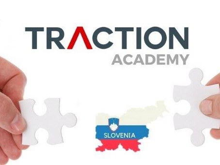 Nomina all'MBA, ABC Accelerator program, Center for Business Excellence: #TractionTakesSlovenia