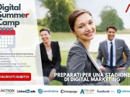 Digital Summer Camp: l'esperienza digital che ti manca!