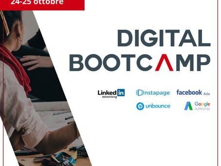 Digital Bootcamp la formula vincente per far crescere la tua azienda!