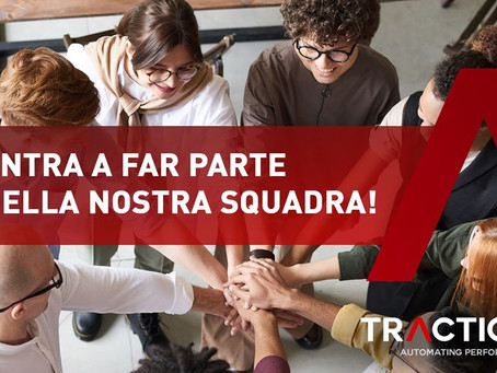 Talent 4 Traction parte ora!  5 (buoni) motivi per partecipare alla challenge