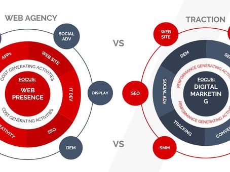 Web Agency e Traction: la differenza è la Performance