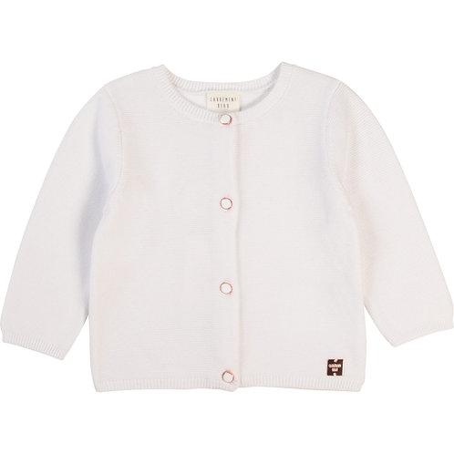 Cardigan en tricot blanc - Carrément beau