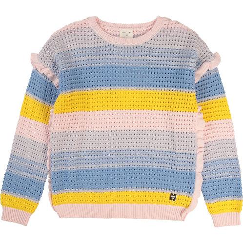 Pull en tricot à rayures - Carrément beau