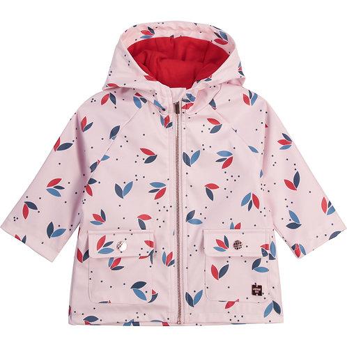 Manteau à capuche à motif floral - Carrément beau