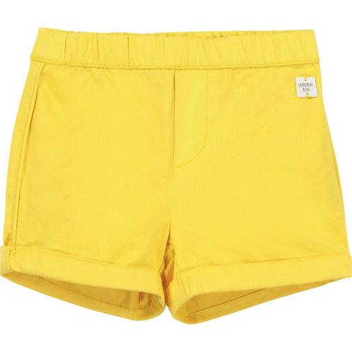 Short en coton jaune - Carrément beau
