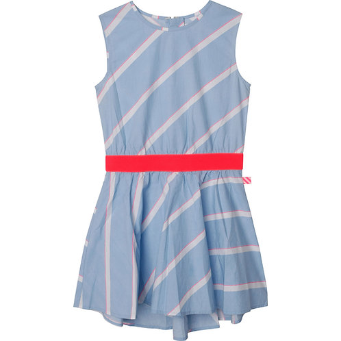 Robe sans manche à rayure bleu et blanche - Billieblush