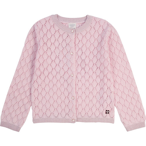 Cardigan en tricot rose - Carrément beau