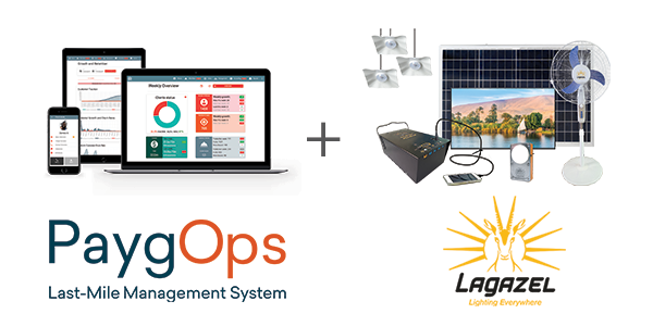 Lagazel Sobox SHS PAYGO enabled with PaygOps