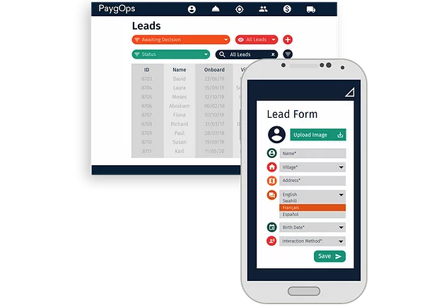 Sales Management Feature PaygOps