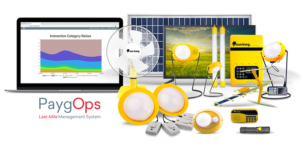 PaygOps Partner with Sun King, Greenlight Planet