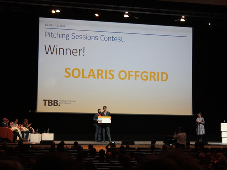 Solaris Offgrid wins the Business Booster 2016 competition (TBB)