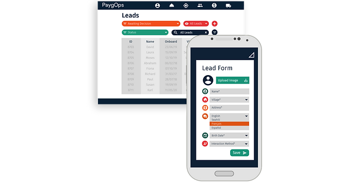 Sales Management Features PaygOps