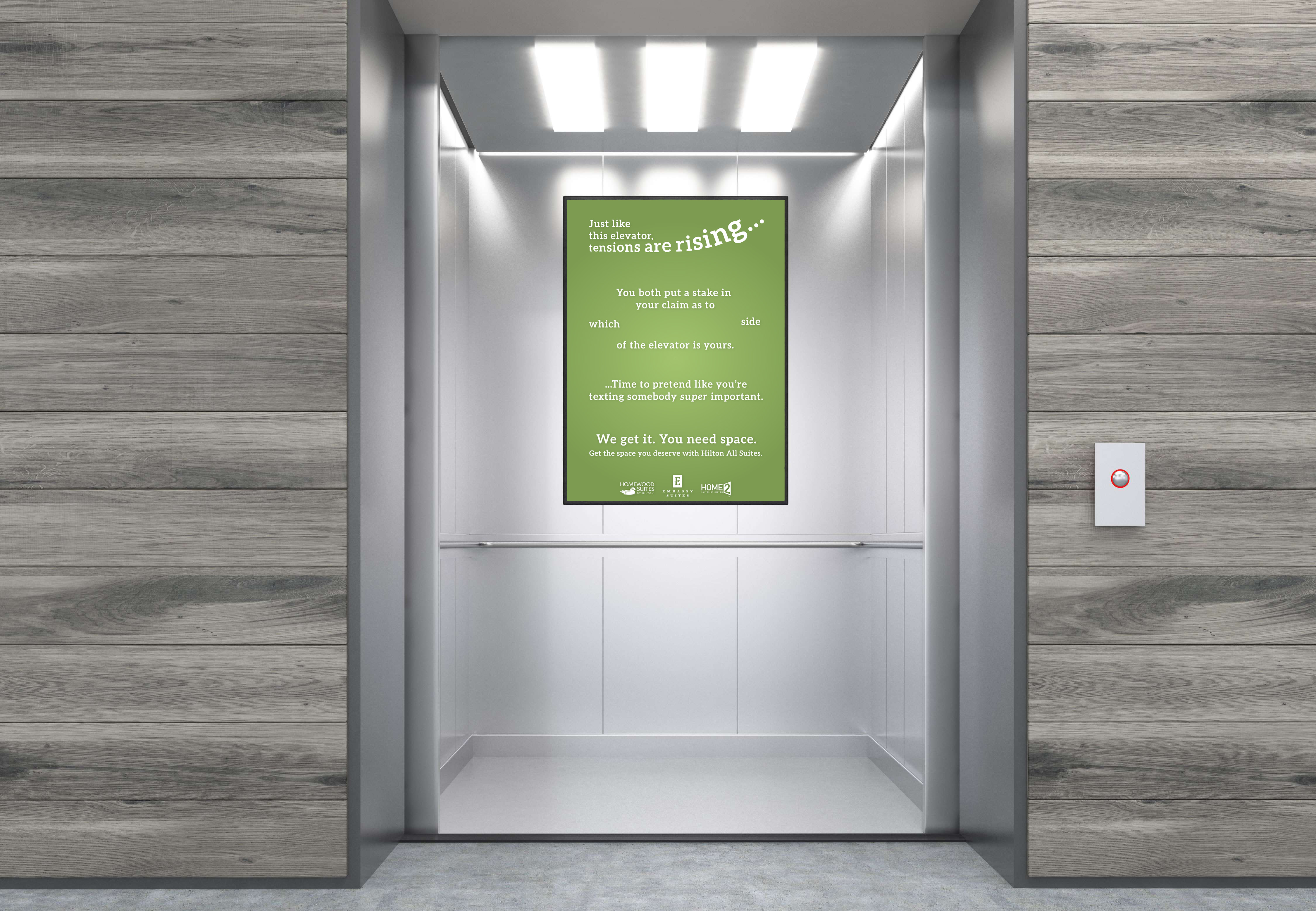 Elevator Ad