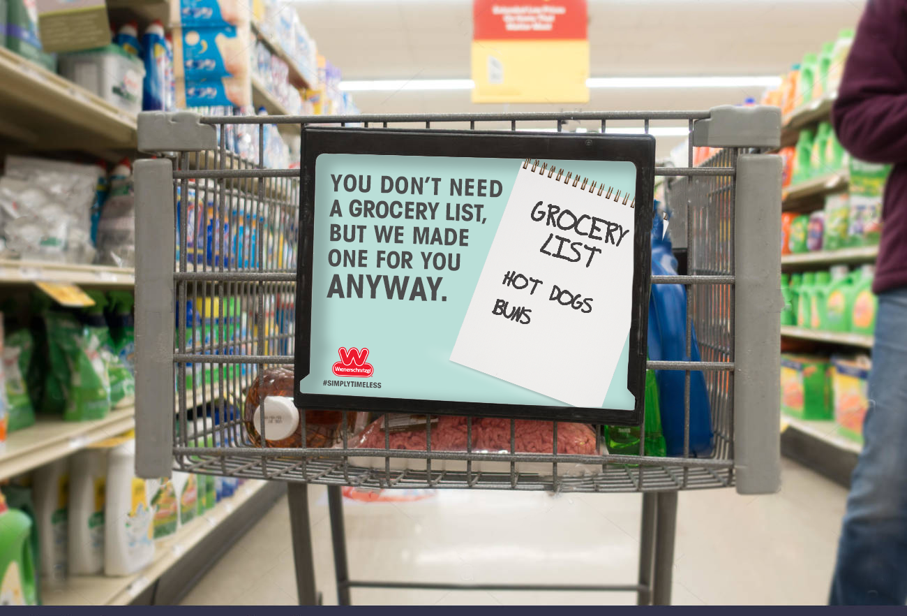 Grocery Cart Ad