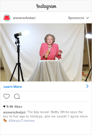 Betty White Instagram