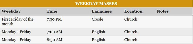 Weekday Masses.JPG