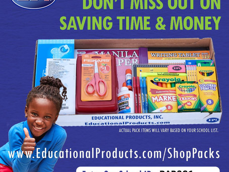 School Supplies Deadline July 15!!!