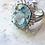 Thumbnail: Aquamarine Princess Ring