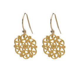 Single Filigree Earrings