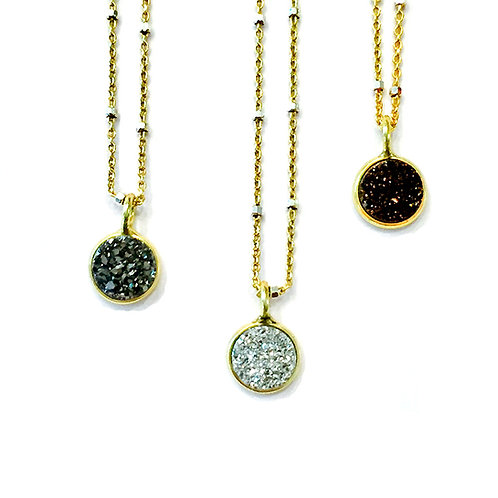 Baby Druzy Necklace