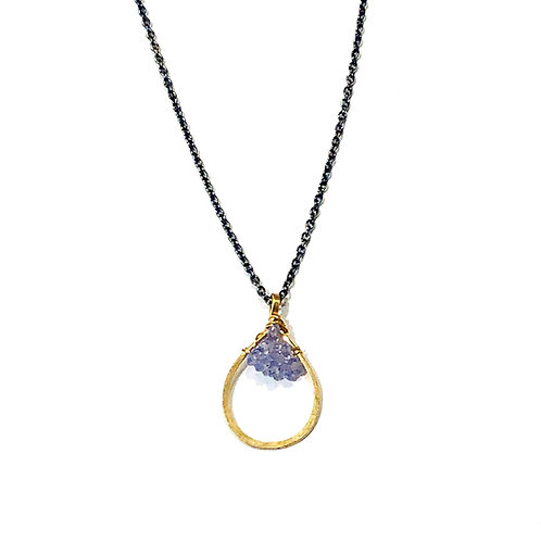 Tiny Teardrop Caviar 14k