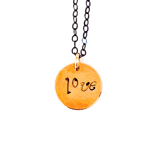 "Love Letter ""Sentiments"" Necklace"