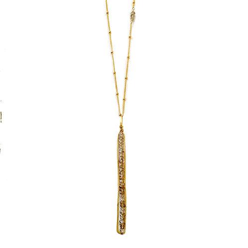 Caviar Stick Pendant
