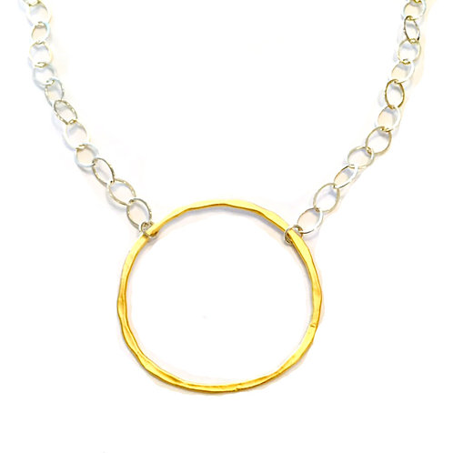 Large Circle Necklace 2