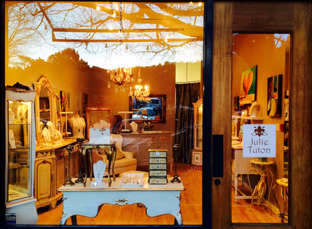 New boutique for Julie Tuton Jewelry