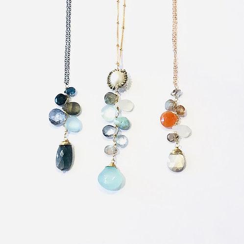 Amulet Cluster Necklaces