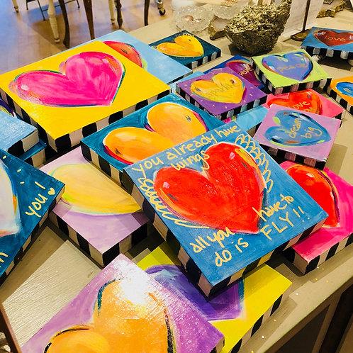 Assorted Mini Hearts