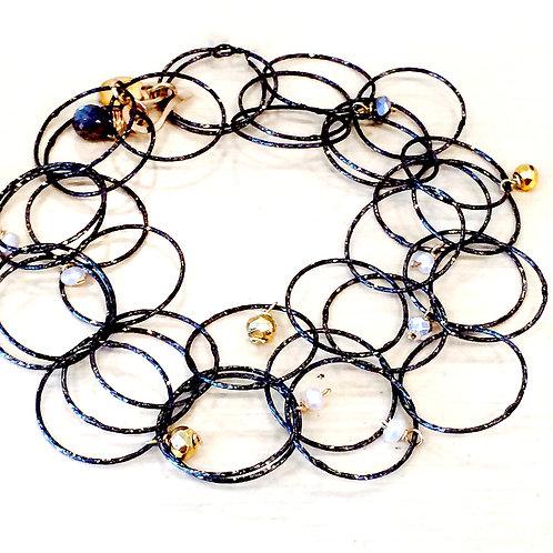 Multi Bubbles & Gems Bracelet