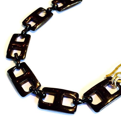Gunmetal Chunky Links Bracelet