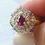Thumbnail: Ruby Peacock Ring