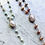 Thumbnail: Gem chain Y Necklace & Lariat with Baroque Pearl