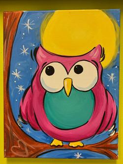 Owl Moon Canvas