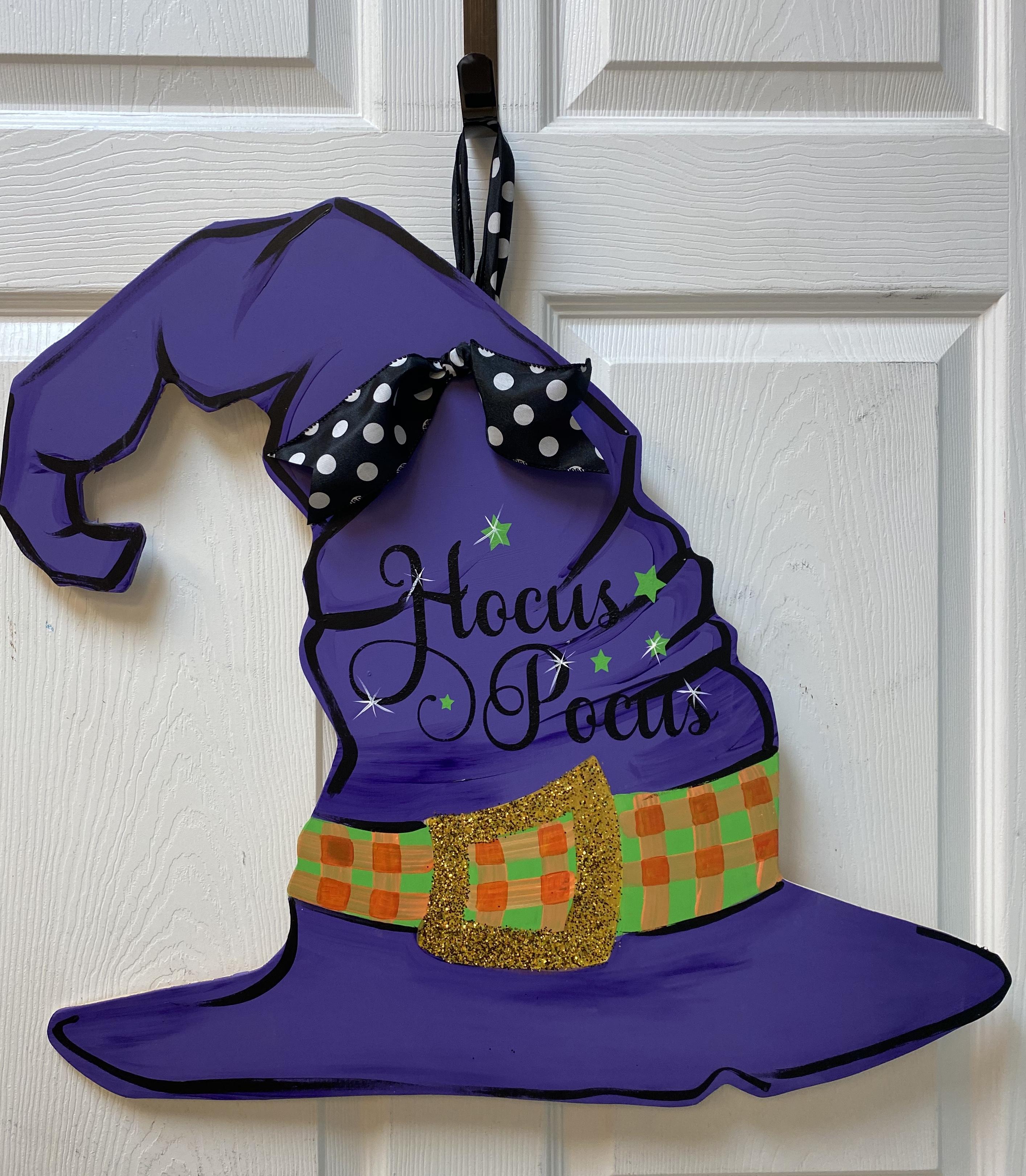Hocus Pocus Hat Board