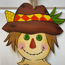Scarecrow Wood Cutout