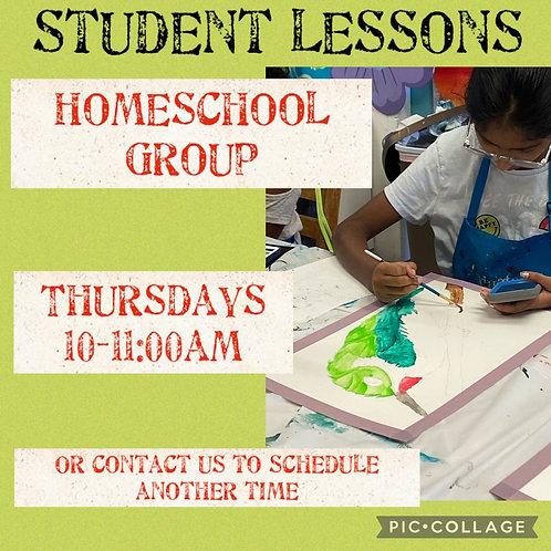 Homeschool Group Thursdays 10-11am