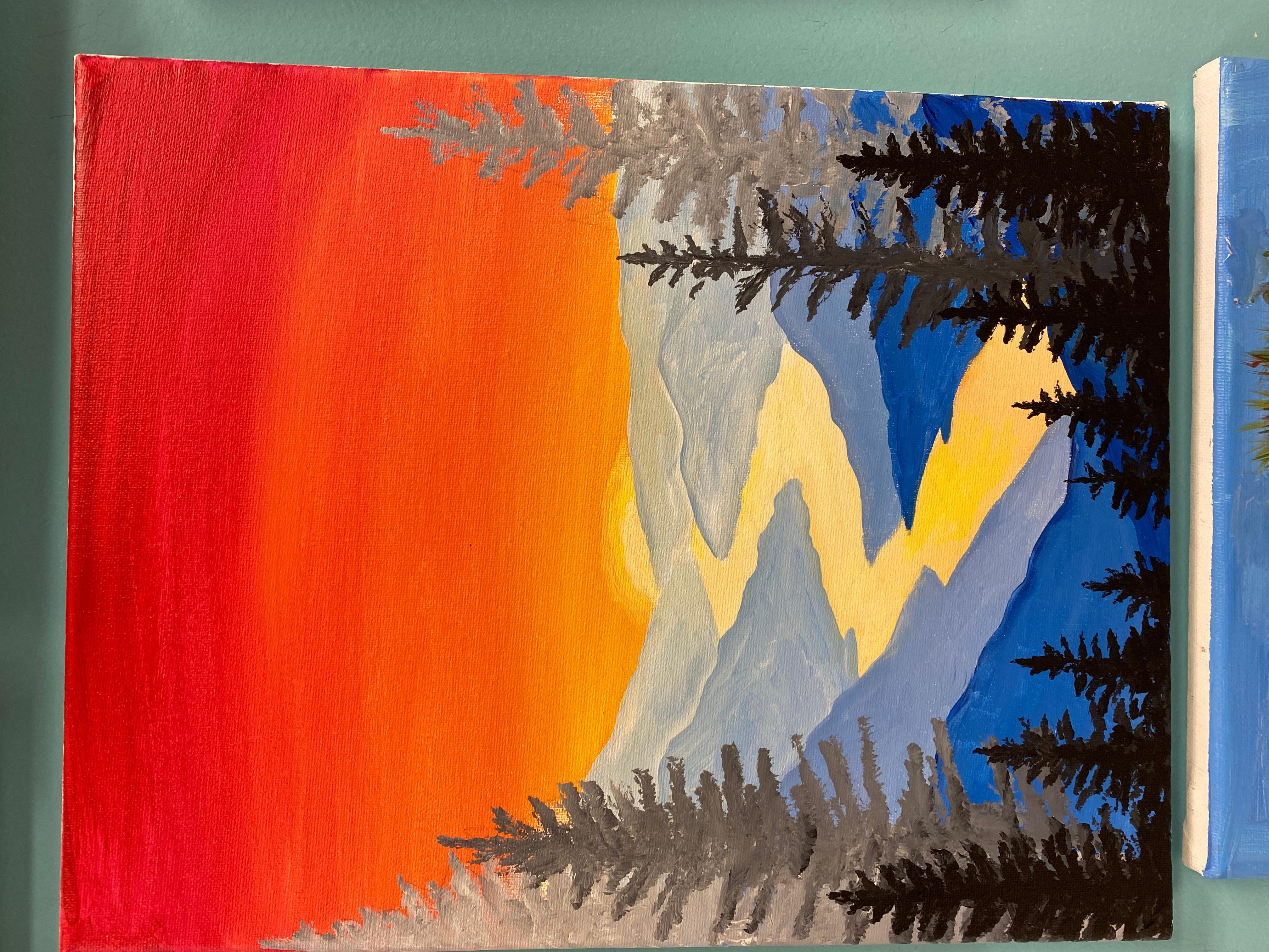 Mountain Landscape Canvas