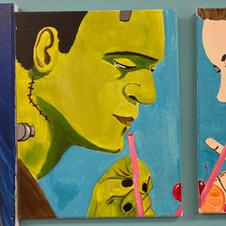 Frank & Bride Date Night Canvases