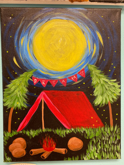 Camping Canvas