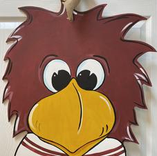 #127 Cocky Wood Cutout